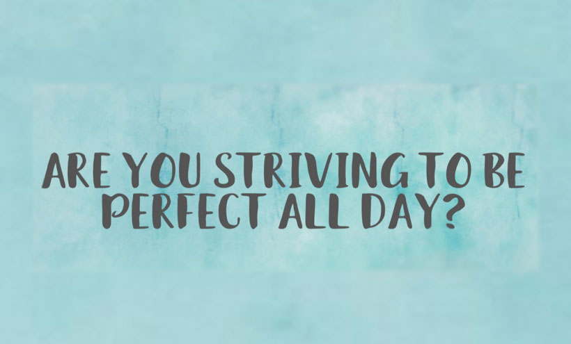 Are you striving for perfect? Our therapists at NYC Counseling can help!